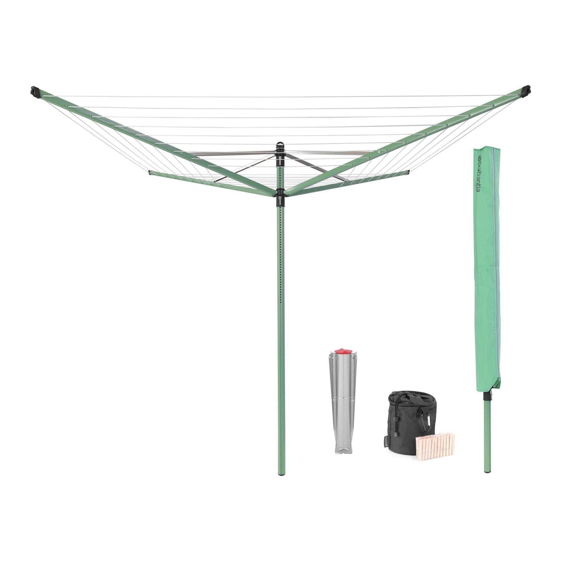 Brabantia Lift-o-Matic Droogmolen 50 m - Incl. accessoires