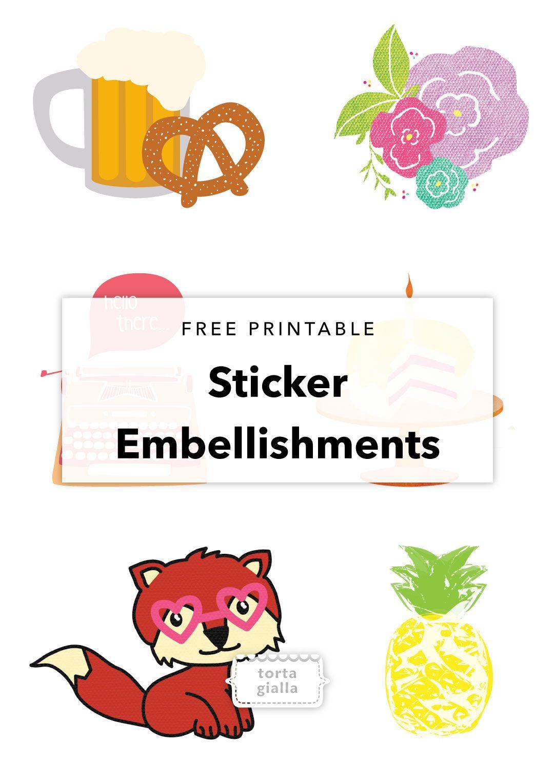 Free Printable Cute Sticker Designs Sticker Design Cute