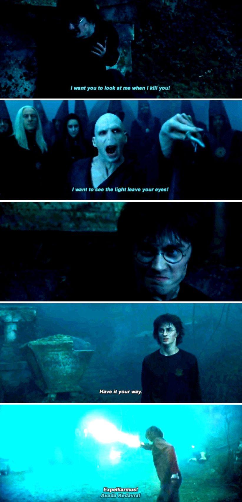 Expelliarmus Vs Avada Kedavra Harry Potter Universal Harry James Potter Harry Potter Obsession