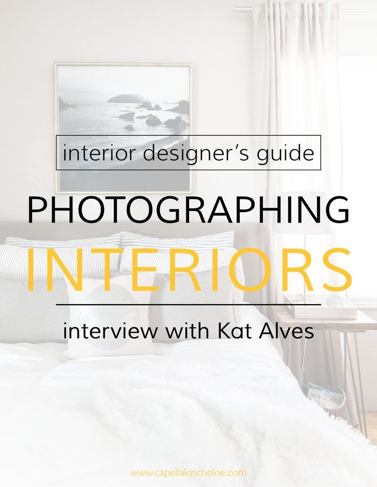 Photographing Interior Design Interview with Kat Alves Design