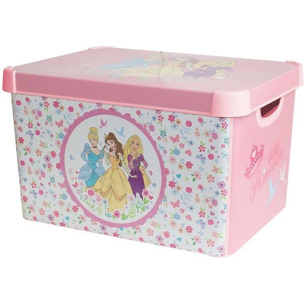 Attractive Disney Princess Storage Box (£6.99) ❤ Liked On Polyvore Featuring Home,  Childrenu0027s Room And Childrenu0027s Decor