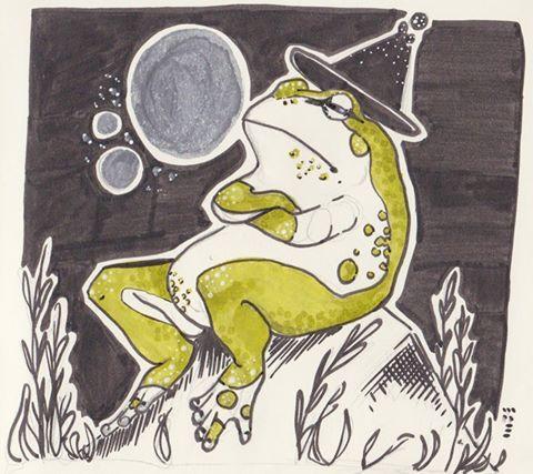Oracle Frog- Marinthe de Bokx