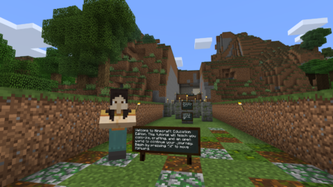 Tutorial World Minecraft Education Edition Education Minecraft School Tutorial