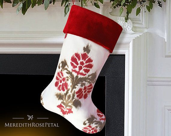 velvet christmas stocking velvet stocking christmas stockings velvet unique christmas stocking modern christmas stocking by meredithrosepetal on etsy
