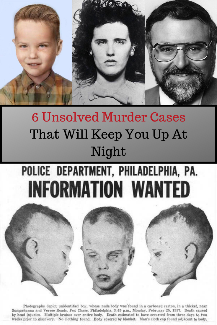 Unsolved Murders Cases
