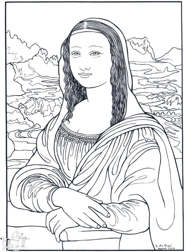 Mona Lisa | Color Art | Pinterest | Arte, Pintor y Colores