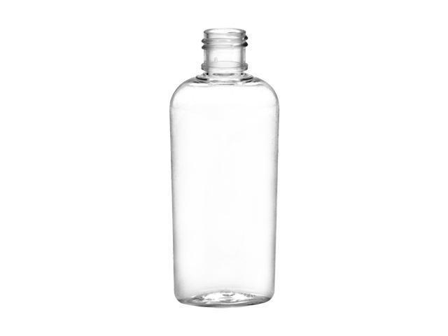 1 Oz Clear 15 415 Cosmo Pet Oval Plastic Bottle W X2f Natural Dispensing Cap Bottle Pet Plastic Bottles Plastic Bottles