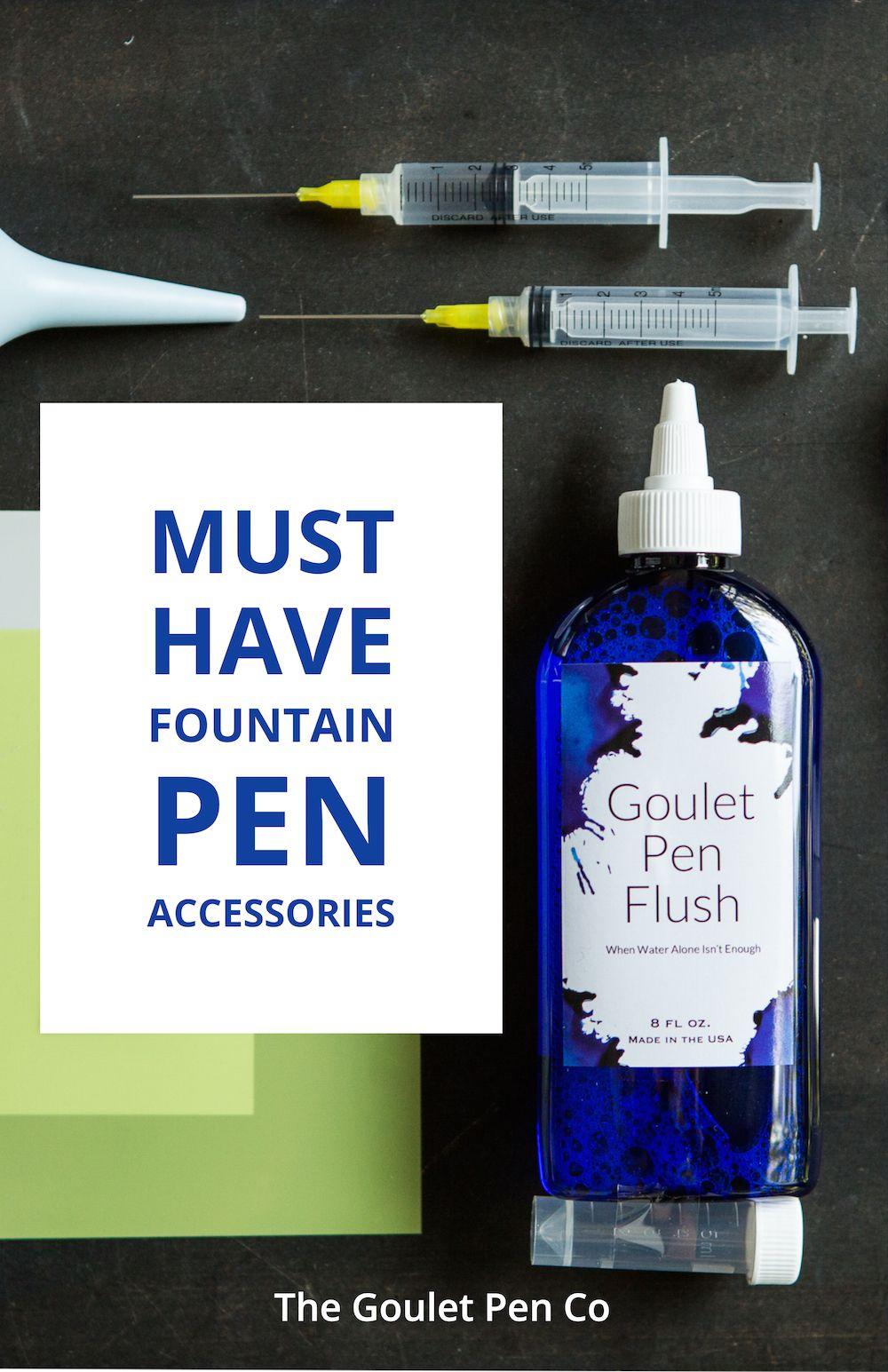 Must Have Fountain Pen Accessories Pen Accessories Goulet Pens Fountain Pen [ 1545 x 1000 Pixel ]