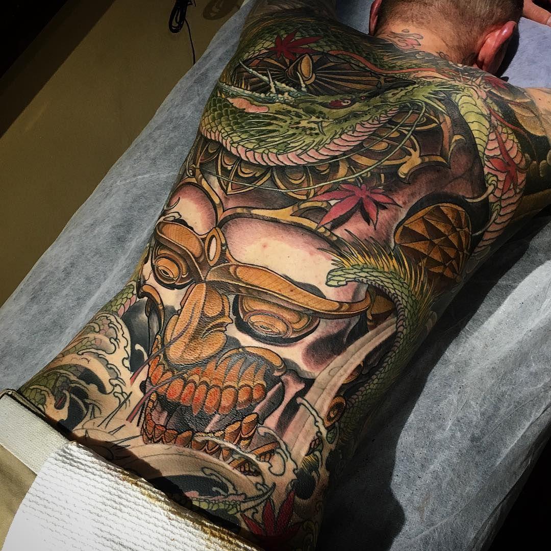 Man Yakuza Cigar Tattoo: 35 Entzückende Yakuza Tattoo Designs