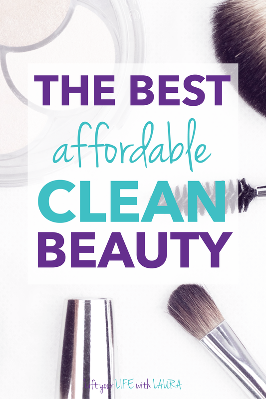 Round up of the natural makeup products best for your