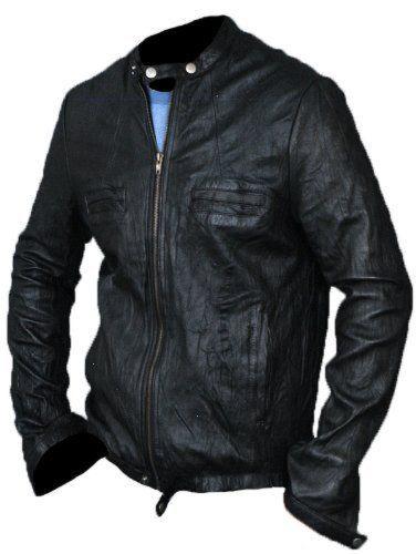 Emaan Men 17 Again Oblow Zac Efron Leather Jacket (XS