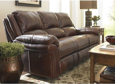 Room · Havertys: Payton Reclining Sofa Image