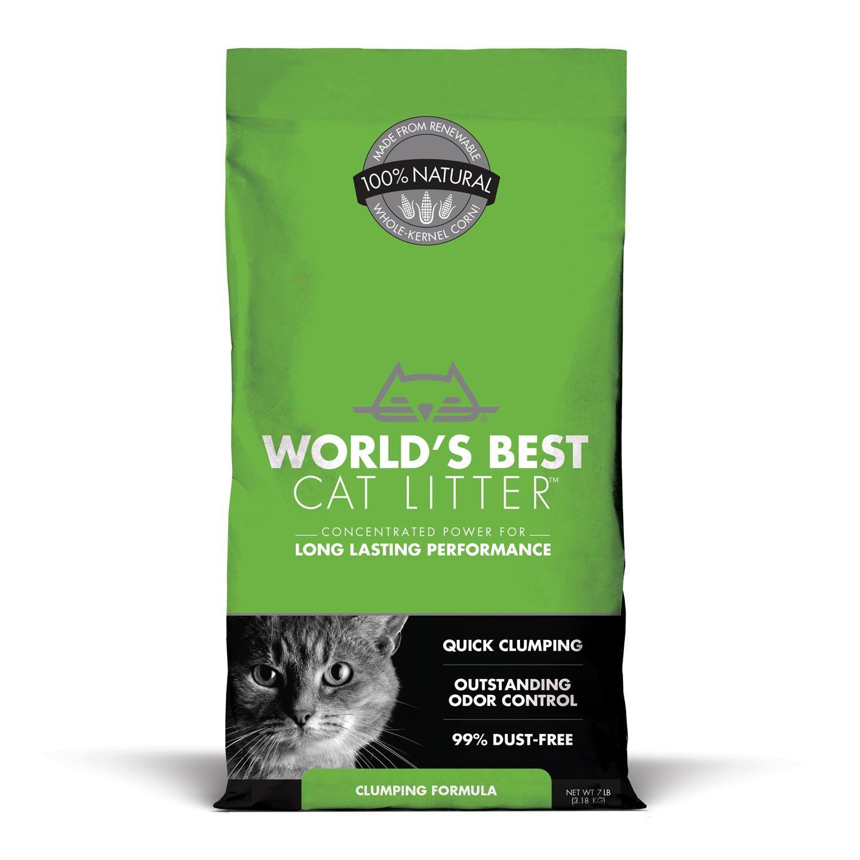 World's Best Cat Litter Clumping Formula, 7 lbs. Petco