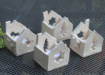 teelichthalter weihnachtskeramik pinterest. Black Bedroom Furniture Sets. Home Design Ideas