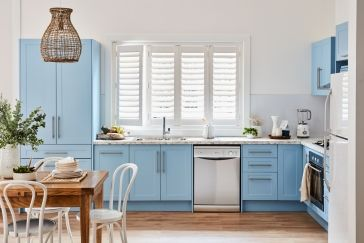 conceal it with colour kitchen inspiration kaboodle kitchen kaboodle kitchen in 2020 l on kaboodle kitchen navy id=27890