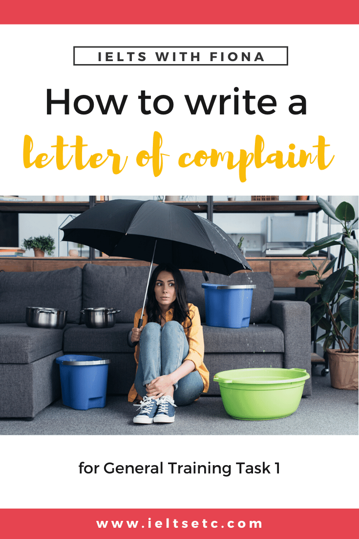 how to write a letter of complaint for ielts writing task university resume samples medical student cv sample professional summary administrative assistant