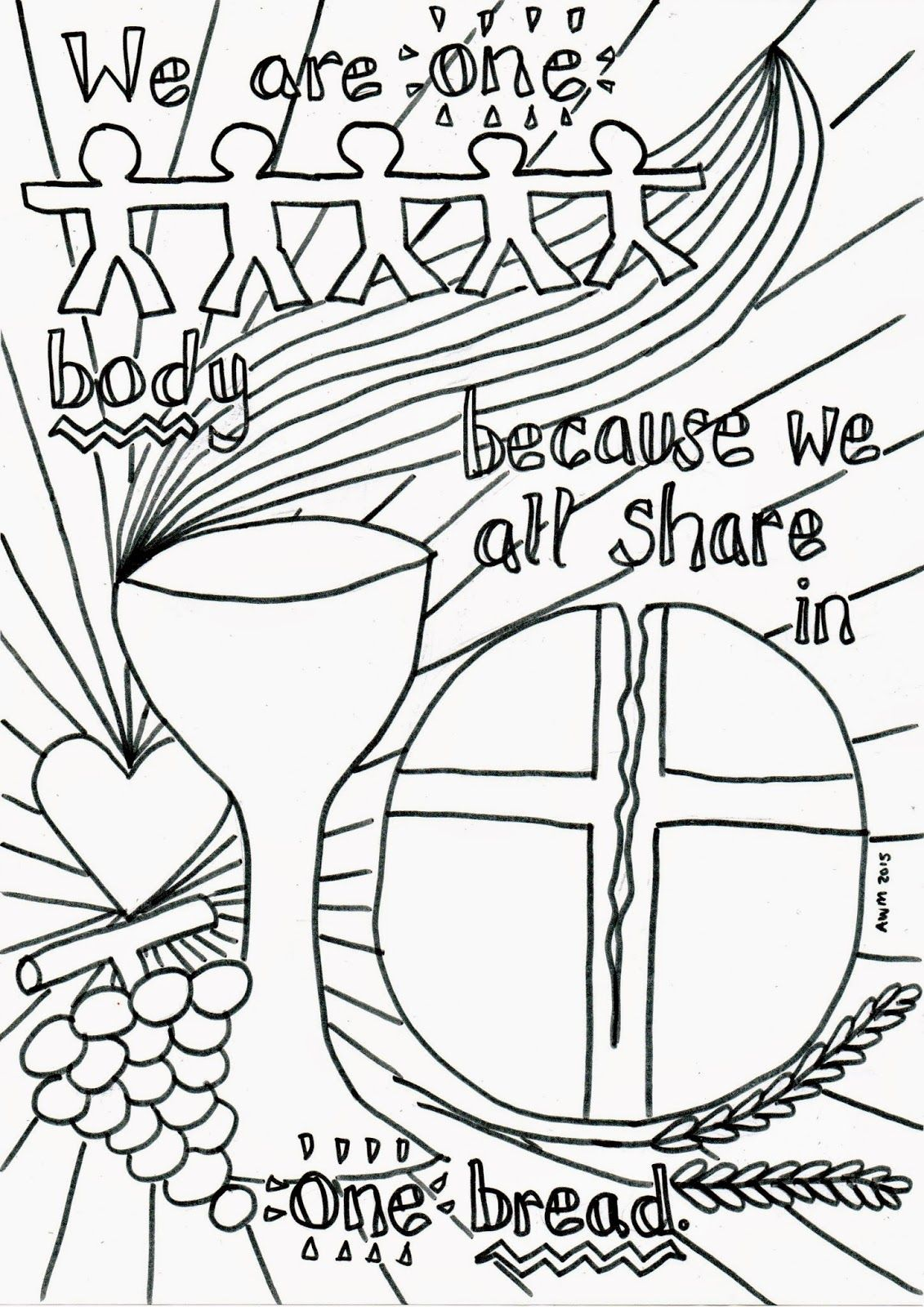 Flame Creative Children S Ministry Holy Communion Reflective Colouring Sheet Home