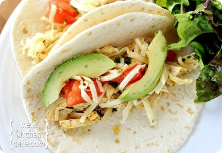 Simple Chipotle Chicken Tacos - Mel's Kitchen Cafe
