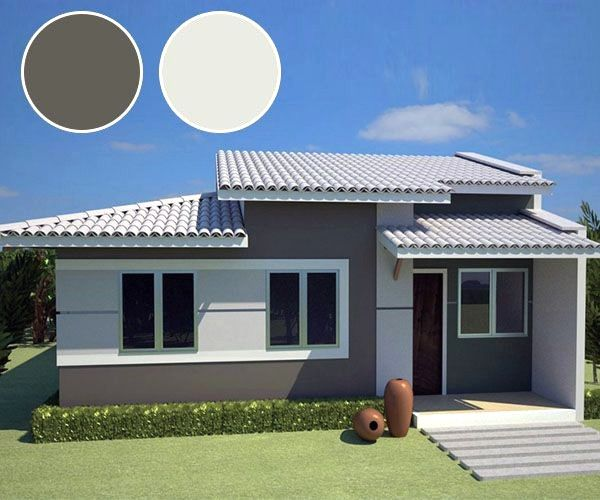 Combinaciones De Colores Para Exteriores De Casas Con Combinaciones De Colores Para Pintura Exterior De Casa Exterior De Casa Cinza Cores Exteriores Para Casa