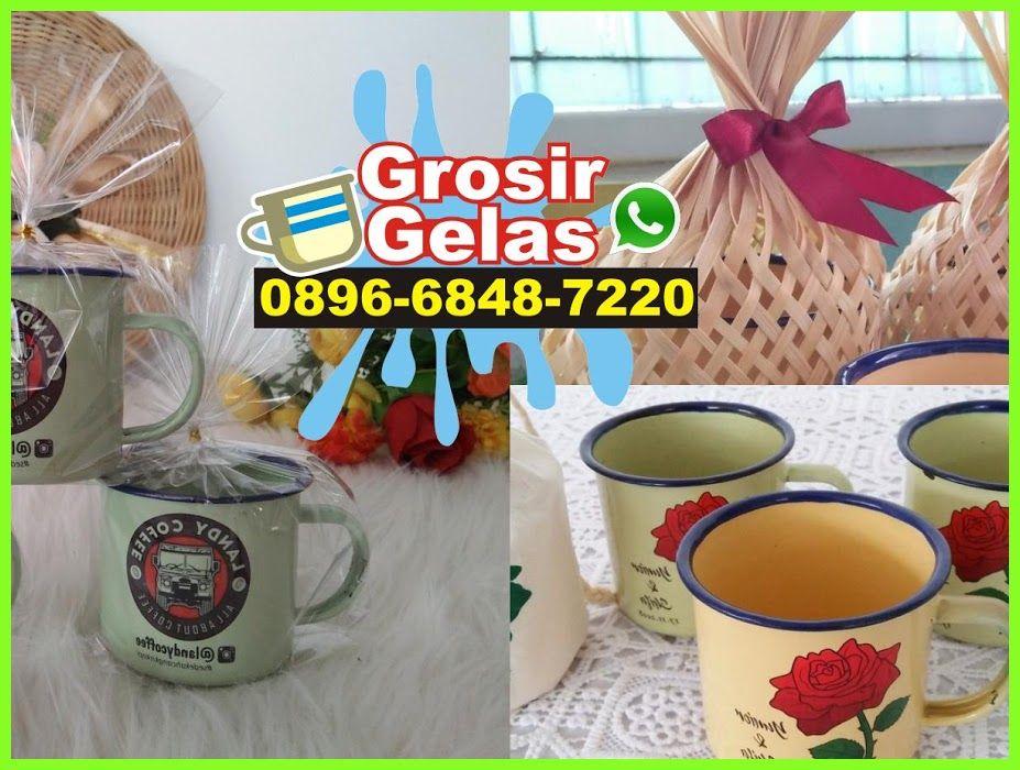 Gelas Kopi Enamel O8966848722O [WA] Gelas, Cangkir teh