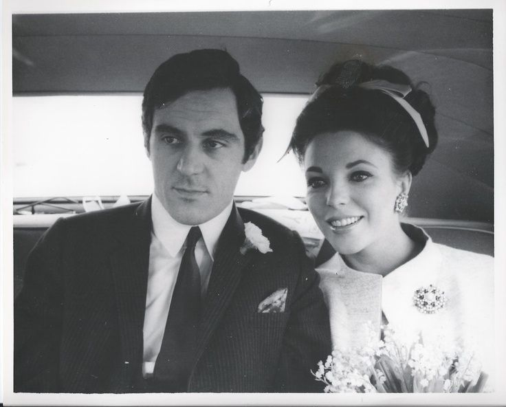 joan collins wedding to anthony newley joan collins