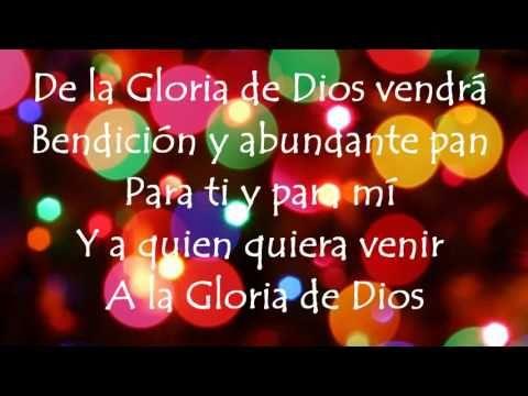 La Gloria De Dios Ricardo Montaner Ft Evaluna Montaner Spanish English Songs Neon Signs