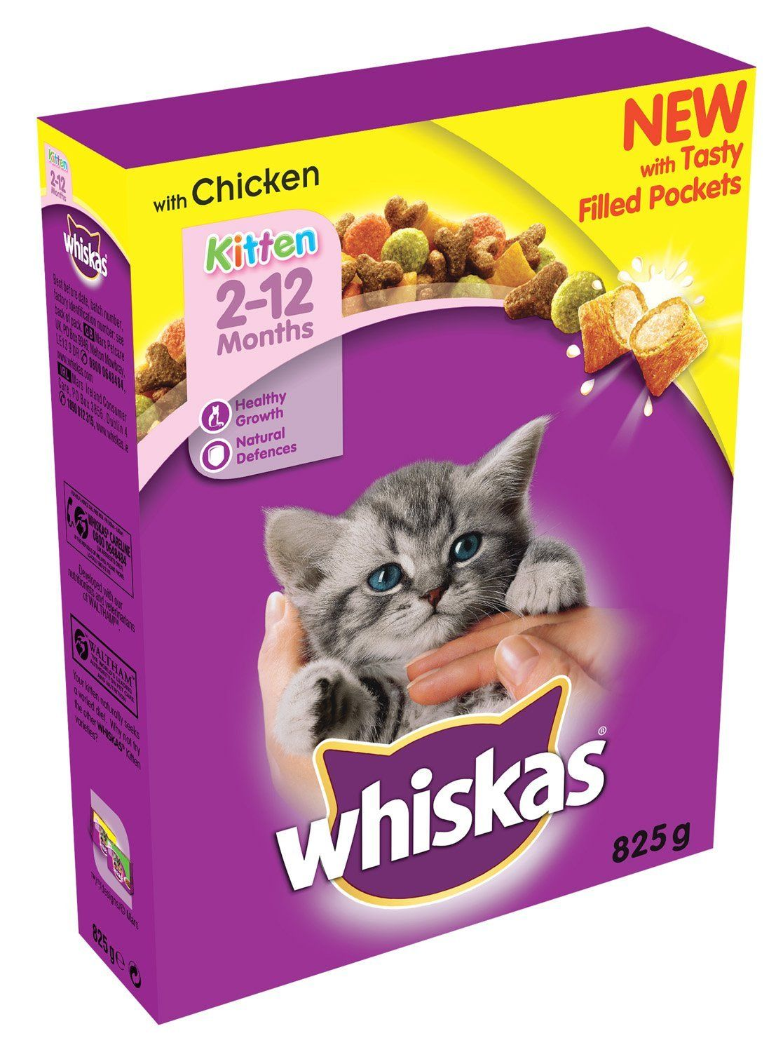 Whiskas 2 12 Months Kitten Complete Dry With Chicken 825g Pack Of 5 Check Out The Image By Visiting The Link Kitten Food Wet Cat Food Cat Pet Supplies