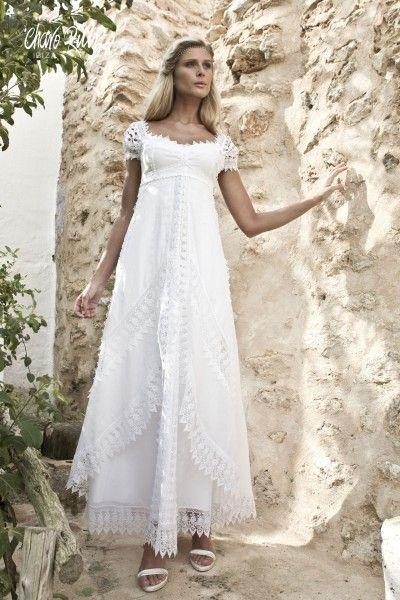 vestido romano : charo ruiz – moda ibiza. vestidos novias. moda