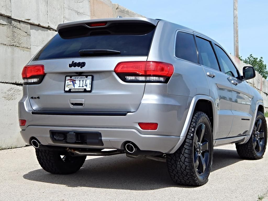 2014 Jeep Grand Cherokee Altitude 4x4 Exterior Jeep