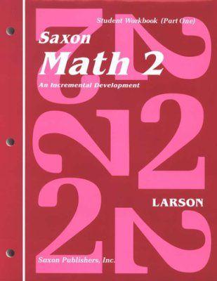 Saxon Math 2, Student Work Kit & Fact Cards   Matemáticas, Hechos y ...
