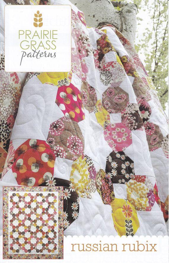 Prairie Grass Patterns Russian Rubix Quilt Pattern Quilt