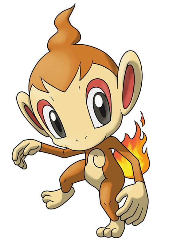 CHIMCHAR!! I love him he's my starter pokemon! | pokemon
