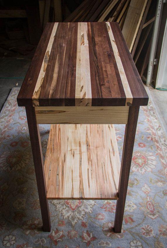 butcher block kitchen island table 20 x 40 x 30 high with rh pinterest com