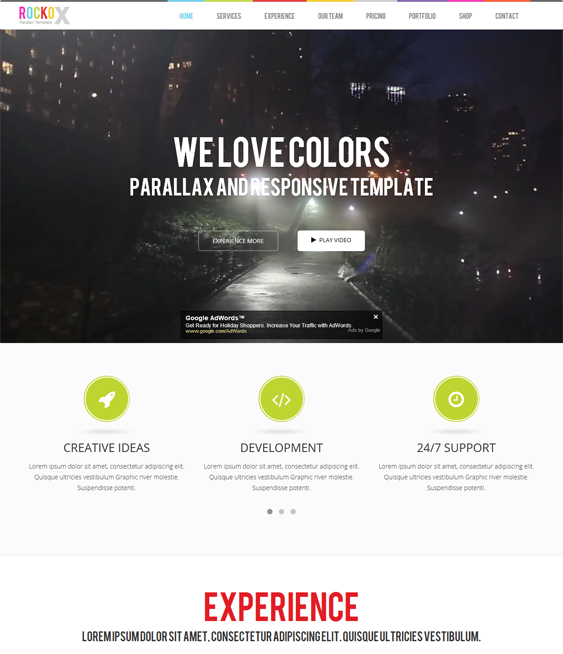Pin on 25 More of the Best Parallax Drupal Themes