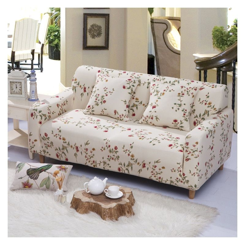 Phenomenal Homing Printed Couch Cover Protector Sofa Wrap Tight Elastic Bralicious Painted Fabric Chair Ideas Braliciousco