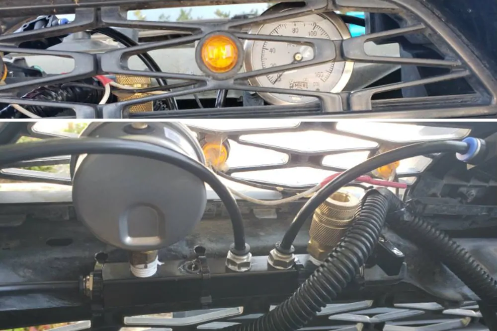 2Way Inflation & Deflation Air System For Tires Quick