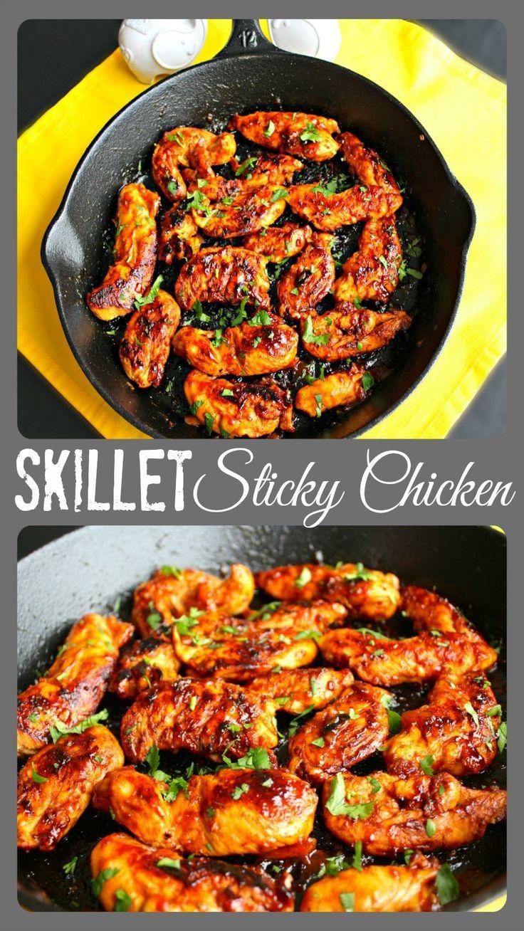 Skillet Sticky Chicken ~ The Complete Savorist Chicken