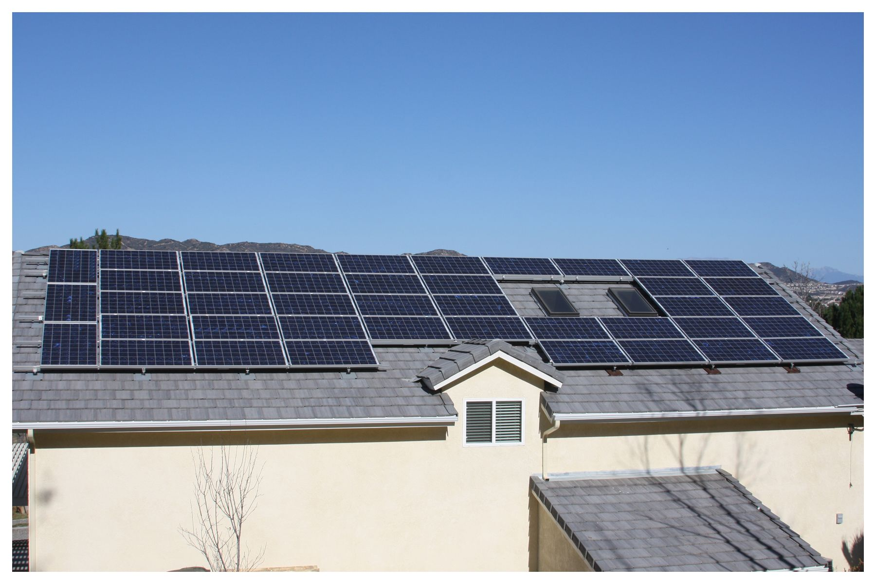 Residential Solar Roof Mount Installation by Ambassador