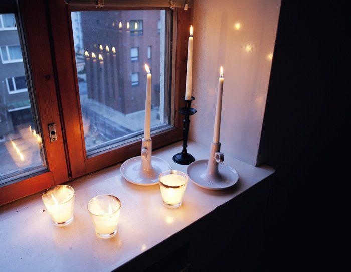 Kynttilöitä, kahvia ja unta - Suvi sur le vif   Lily