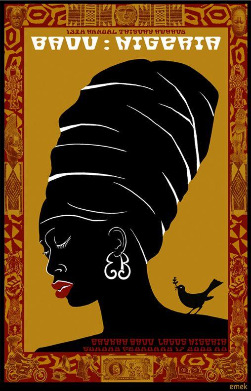 Erykah Badu Lagos Nigeria Rock Posters Concert Posters Vinyl