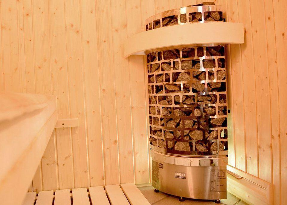WEKA Set Saunaofen »Eck Sentiotec«, 7,5 kW, inkl Zubehör Pinterest - zubehor fur den outdoor bereich
