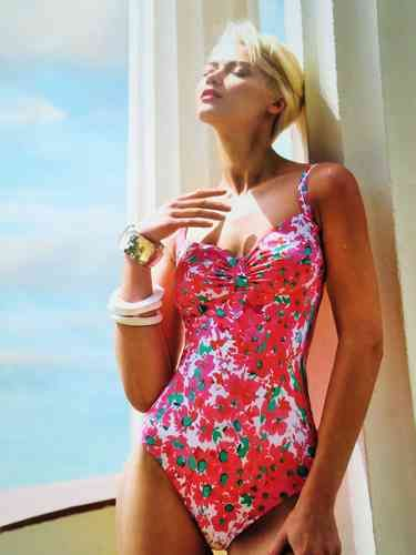 081d8ed6a1 Bright & youthful Elidi swimsuit by Tessy, from high end designer Roidal -  in a