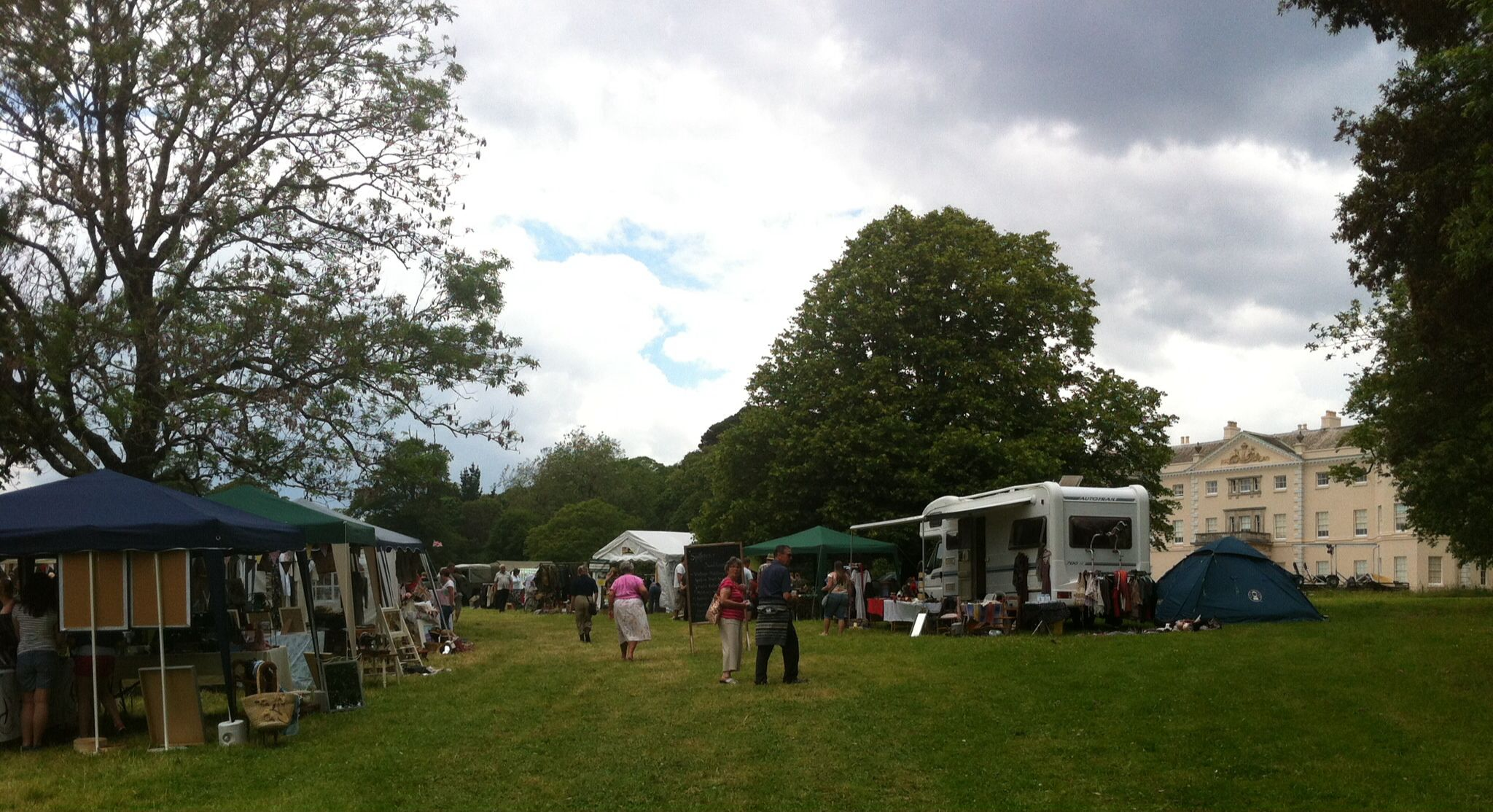 The Vintage Stalls At The Event