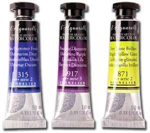 Sennelier L Aquarelle Artists Watercolour Paint 10ml Tubes In