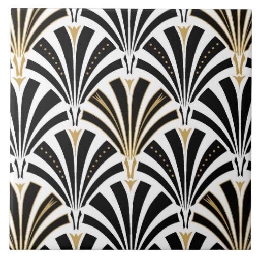 Art Deco Fan Patters Art Decó Art Deco Wallpaper Art Deco