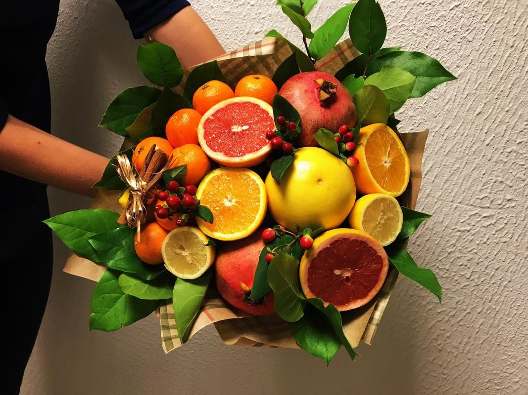 Нарисовать легко, картинки букетов из фруктов и конфет