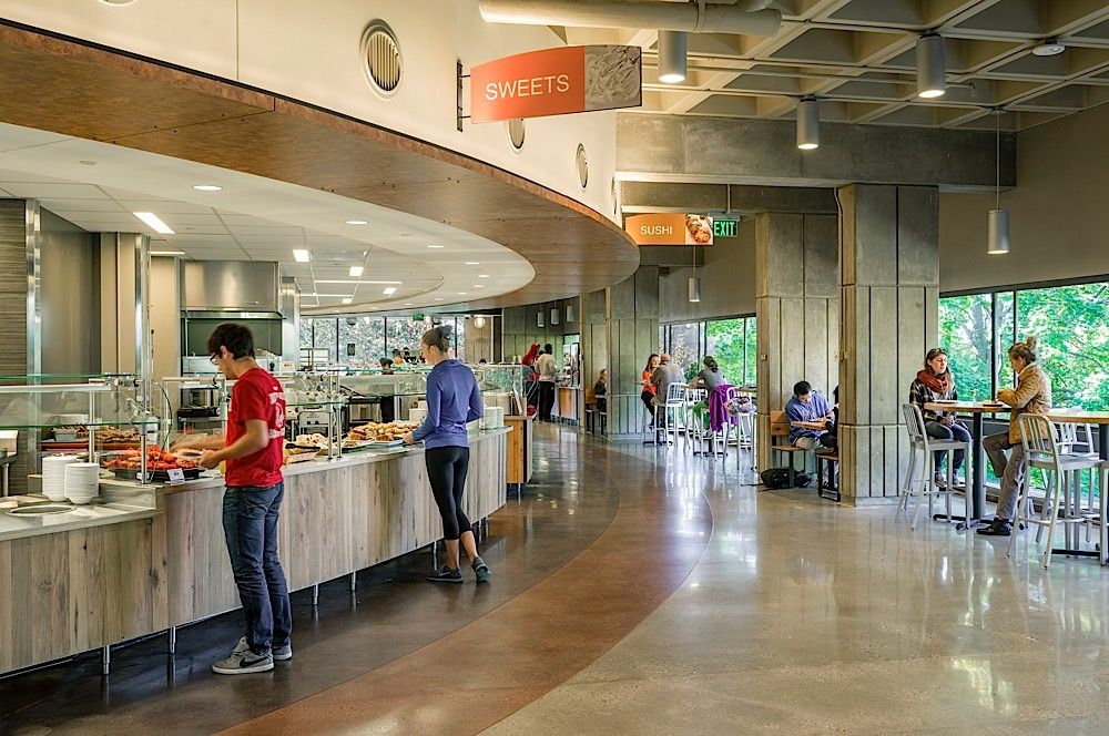 University Of Massachusetts Amherst Hampshire Dining Commons