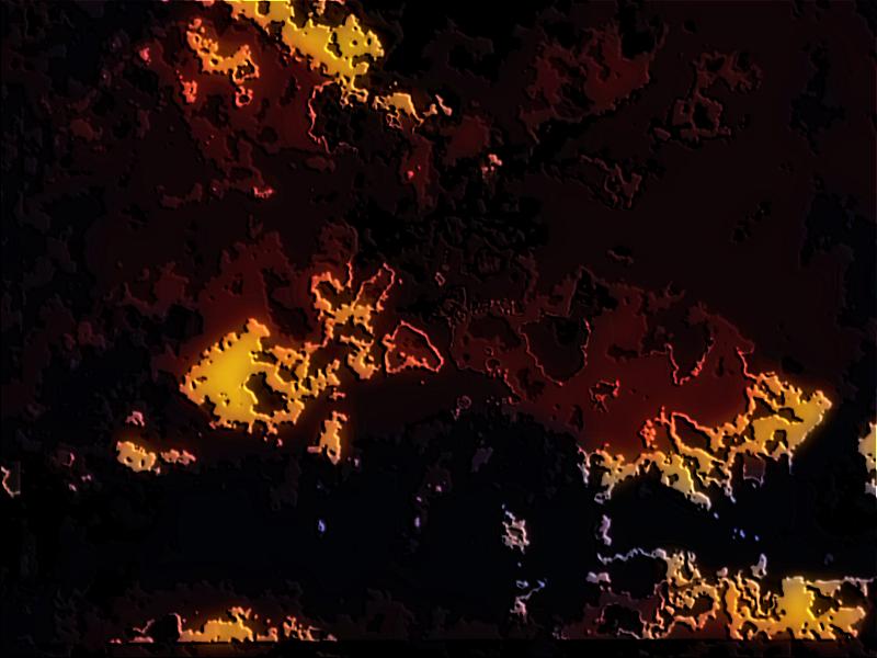 "JoanMira - 1 - World : Pintura digital - ""Estranho planeta"" - 17-12-2014"