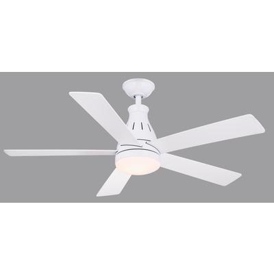 Hampton Bay Cobram 48 Inch Led Ceiling Fan Cf548kr Cl160