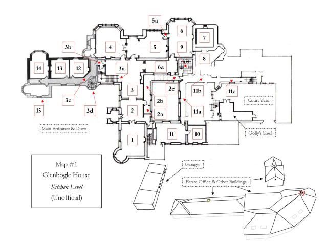 Ardverikie House Glenbogle Castle In Loch Laggan Scotland Uk Map1atkitchen Jpg Original 639 473 Castle Floor Plan Ground Floor Plan How To Plan